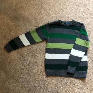 children's place striped sweater size 7/8